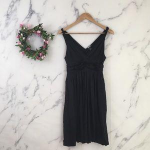 DKNY Silk Fit & Flare Dress